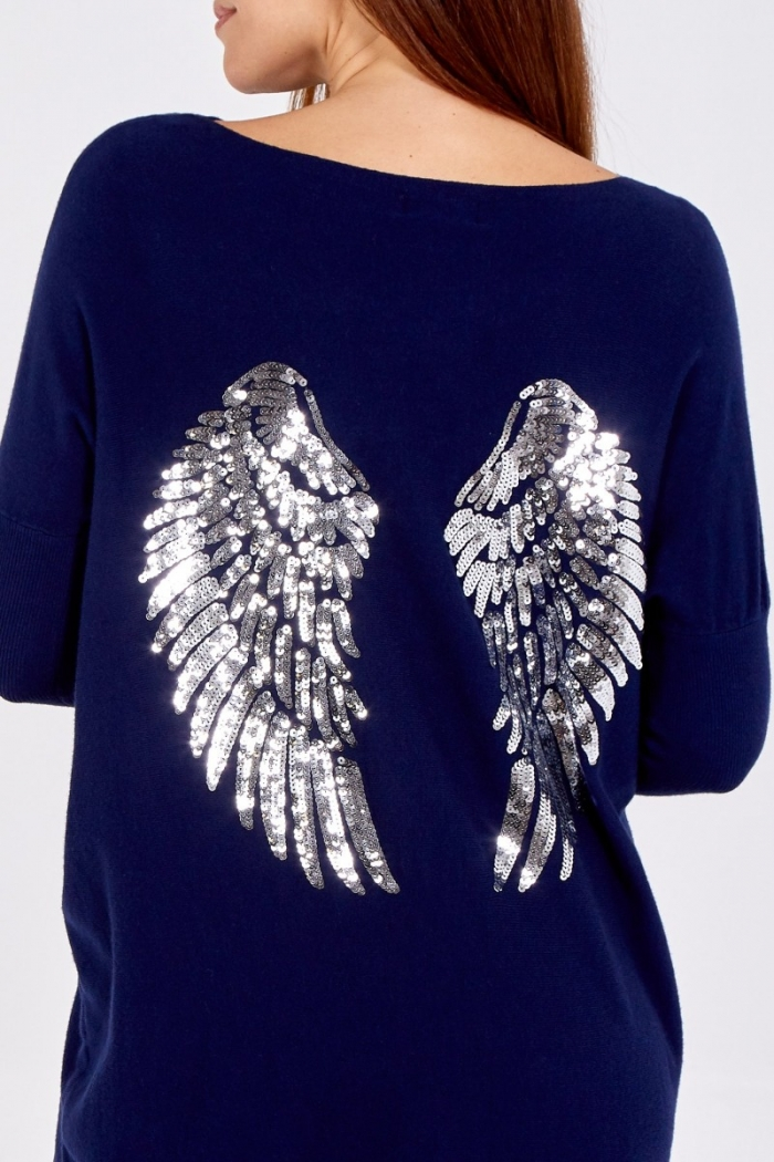 Sequin Angel wing Lounge Suit