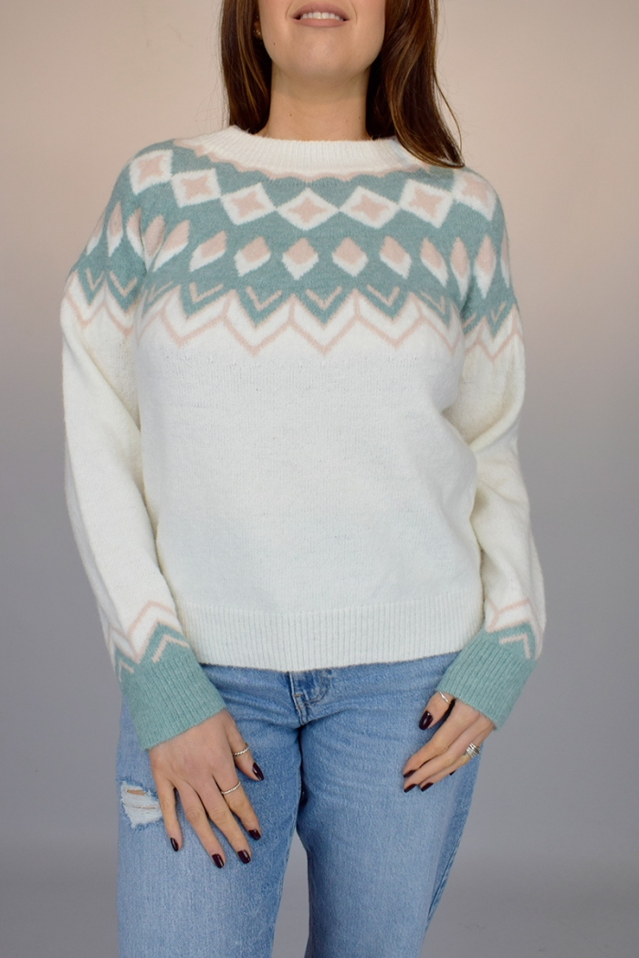 Soft Touch Printed Jumper