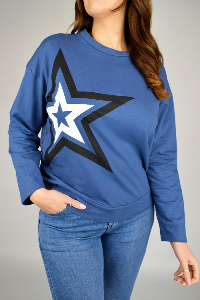 Star Side Cotton Top